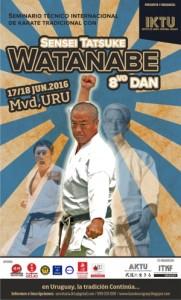Seminario Shihan Watanabe en Uruguay 2016